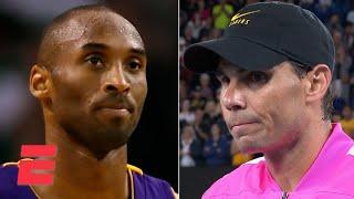 Rafael Nadal: Kobe Bryant will be in our hearts forever | 2020 Australian Open