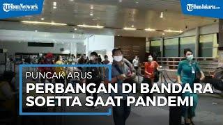 Libur Natal dan Tahun Baru 2021 Jadi Rekor Penumpang Terbanyak di Bandara Soetta Saat Pandemi
