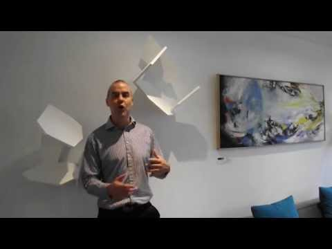 Perks Accountants' Chief Executive explores ART LOGIC's art rental services