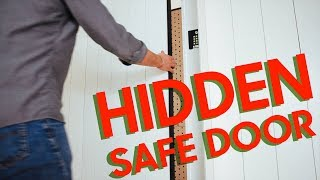 Hidden Doors In A Shiplap Wall - What's In Here?