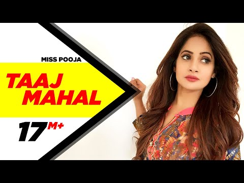 Taaj Mahal Miss Pooja Brand New Punjabi song   Punjabi Songs   Speed Records
