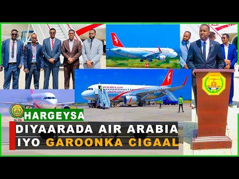 Diyaarada Air Arabia ayaa maanta duulimaadyadii ay ku iman jirtay Somaliland dib u bilowday