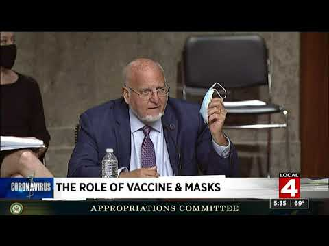 CDC director says masks are more a guarantee against COVID-19 than vaccine