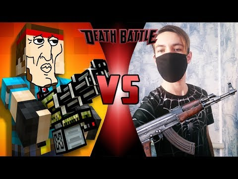 Pixel Gun 3D VS Real Life #3