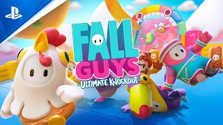PlayStation Fall Guys - Release Date Trailer   PS4 anuncio