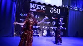 WEF 54 PROFFIGHT 22 Музыкальная пауза Группа Зыйна   Индийский танец