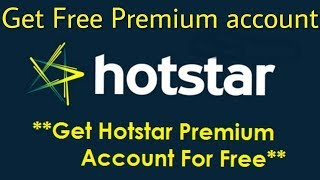 HOTSTAR PREMIUM ACCOUNT GIVEAWAY!!!!//ANNUAL PLAN!!!