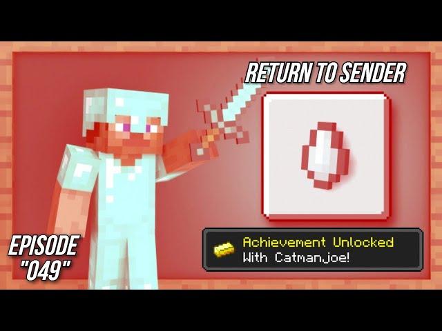 Minecraft Achievement Guide Return To Sender