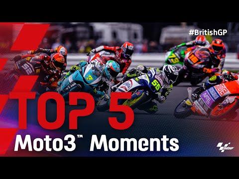 Moto3 2021 第12戦イギリス ハイライト動画
