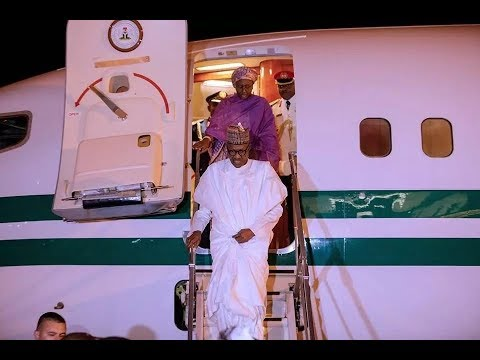 Buhari arrives Turkey with wife for D-8 Summit
