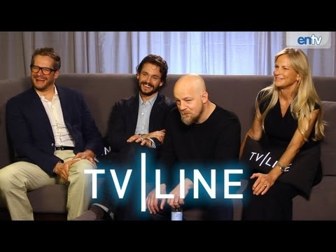 Hannibal - Season 2 - TVLine Interview at Comic-Con