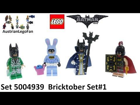Vidéo LEGO Objets divers 5004939 : Bricktober 2017 LEGO Batman Movie [Exclusive Minifigures Toys'R'Us]