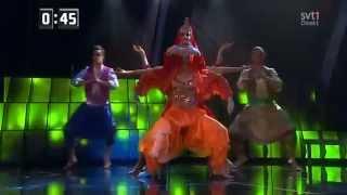 Danny Saucedo & Gina - In The Club (Indie Club) Melodifestivalen 2013
