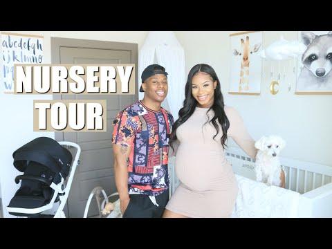 BABY BOY NURSERY TOUR! | MANNIE AND GENECIA