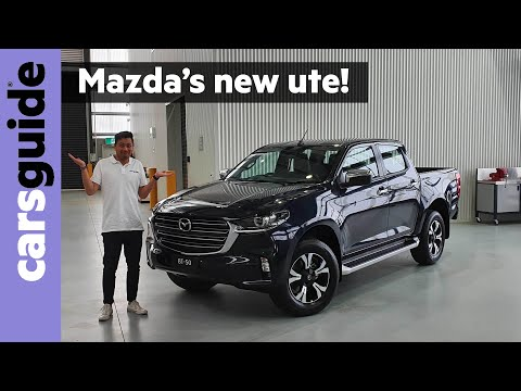 Mazda's all-new BT-50 revealed!
