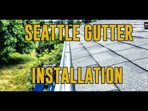 Seattle Gutter Installation - Gutter and Roof Solutions NW