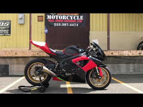 2006 Suzuki GSX-R750™ in Auburn, Washington - Video 1