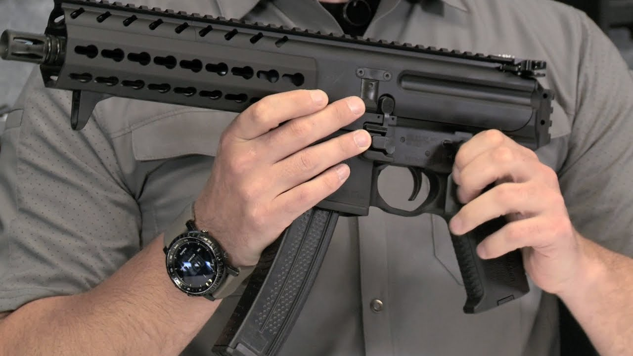 SIG MPX Pistol: Features and Benefits