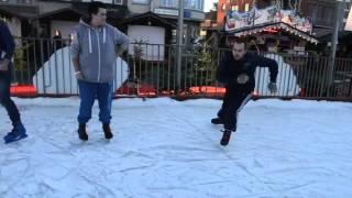 preview picture of video 'patinoire de mouscron 2013'