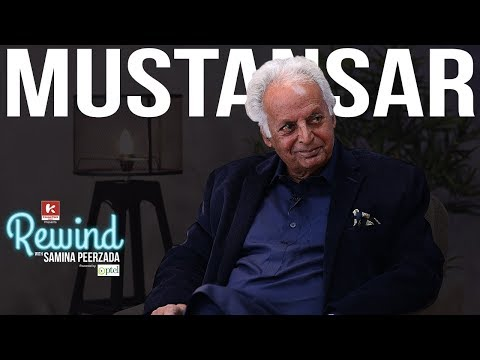 Mustansar Hussain Tarar and his Untold Stories on Rewind with Samina Peerzada | Urdu Writer