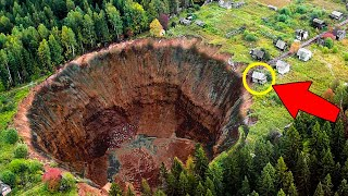 Unbelievable Sinkholes Caught on Camera