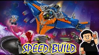 Lego Guardians Of The Galaxy MILANO VS. THE ABILISK Speed Build