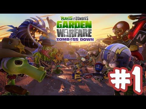 Растения против Зомби: Садовая война - Прохождение на Playstation 4 [Let's Play] #1