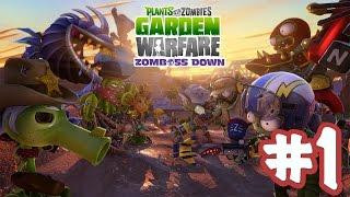 Растения против Зомби: Садовая война - Прохождение на Playstation 4 [Let
