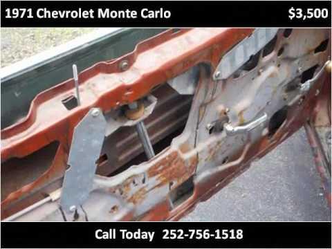 1971 Chevrolet Monte Carlo for Sale - CC-943266