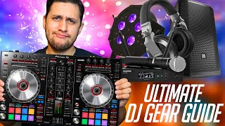 The BEST DJ GEAR To Get To Start Your PRO DJ CAREER (2020 Beginner DJ EQUIPMENT BUYING GUIDE)