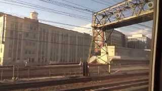 preview picture of video 'Aruna, Suraj & Hari Sharma in Amtrak 148 Washington to Philadelphia in Business Coach, Nov 20, 2014'