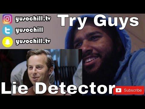 Try Guys - Lie Detector | Reaction (видео)