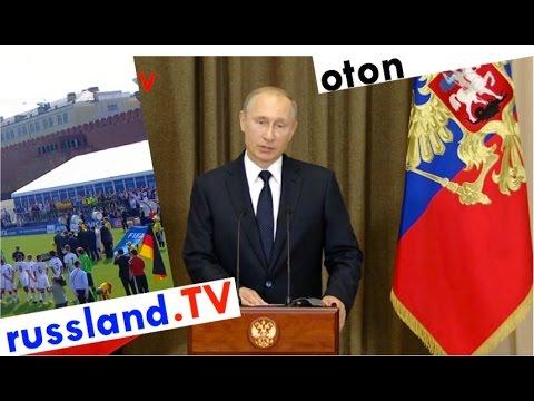 Putin auf deutsch zur Fußball-WM [Video]