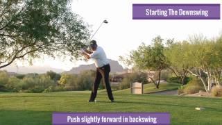 Malaska Golf - Starting The Downswing - Swing Tips - Ask Mike Via Malaskagolf.com
