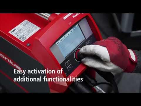 Fronius Magicwave TIG: setting pulse welding parametres - смотреть