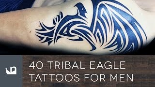 40 Tribal Eagle Tattoos For Men