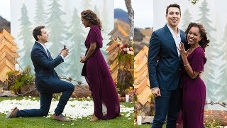 THE MOST ROMANTIC SURPRISE PROPOSAL EVER! || Were Engaged!