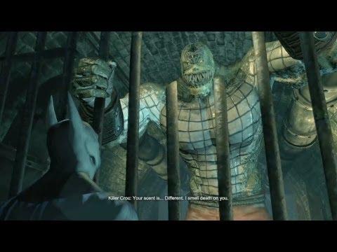 Batman: Arkham City - Killer Croc Easter Egg | Rooster Teeth