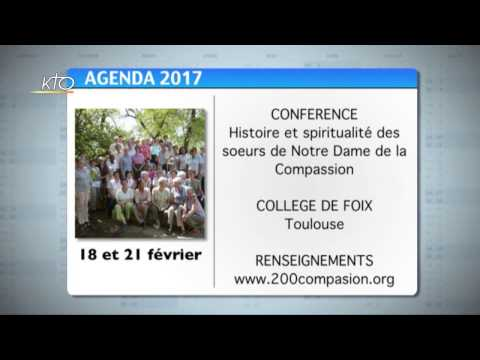 Agenda du 13 février 2017