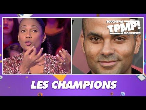 Les champions préférés des chroniqueurs : Tony Parker, Zinédine Zidane, Nelson Mandela