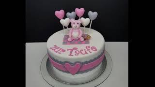 Baby Baptism Cake - Design Decorating Ideas