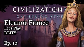 9 Let's Play Civ 6 Eleanor of Aquitane - France