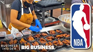 How Chefs In The NBA Bubble Make 4,000 Meals A Week   Big Business