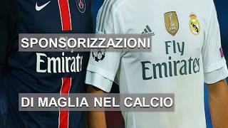 Sponsorizzazioni di maglia nel calcio: la top 10 aggiornata