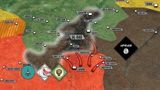 Сирийская армия перерезала последнюю дорогу игиловцев в Эль-Баб. Русский перевод.