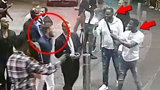 NEW Footage Of Conor McGregor Smashing Fan's Phone In Miami