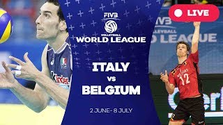 Italy v Belgium - Group 1: 2017 FIVB Volleyball World League