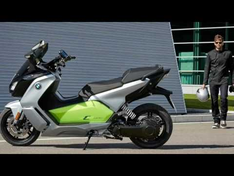 Watch Now!!! 2017 bmw c evolution scooter review