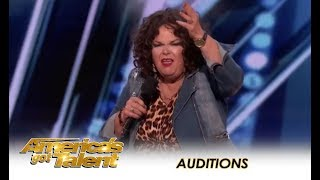 Vicki Barbolak: She's An Ordained Minister And HILARIOUS Comedian | America's Got Talent 2018