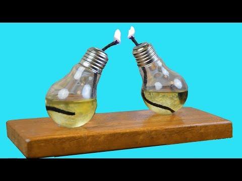 Лайфхак для дома# Свечка из лампочки своими руками#из лампочки ДЕКОР для дома